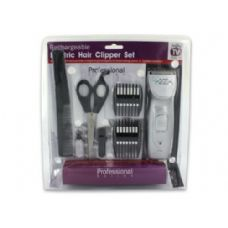 6 Units of Rechargeable hair clipper set