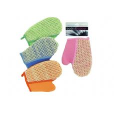 72 Units of Loofah bath glove - Bath And Body