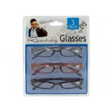 12 Units of Men's reading glasses - Reading Glasses