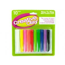 72 Units of Modeling Clay Set 10 Pack - Clay & Play Dough