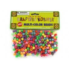 72 Units of Multi-color crafting pony beads