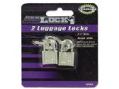 72 Units of Luggage locks with keys - PADLOCKS/IRON/BRASS/COMBO