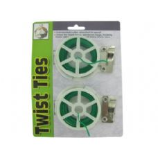 72 Units of Twist tie spools with cutter - Home Accessories