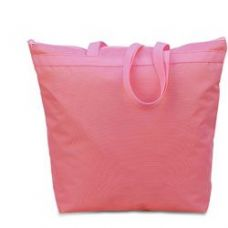 48 Units of Large Tote - Light Pink - Tote Bags & Slings