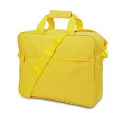 24 Units of Convention Briefcase - Bright Yellow - Lunch Bags & Accessories