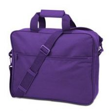 24 Units of Convention Briefcase - Lavender - Lunch Bags & Accessories