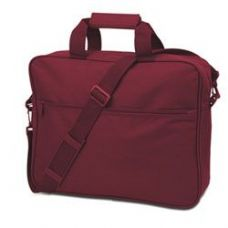 24 Units of Convention Briefcase - Maroon - Lunch Bags & Accessories