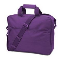 24 Units of Convention Briefcase - Purple - Lunch Bags & Accessories