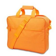 24 Units of Convention Briefcase - Safety Orange - Lunch Bags & Accessories