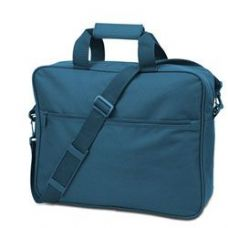24 Units of  Convention Briefcase - Turquoise - Lunch Bags & Accessories