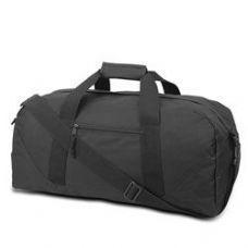 12 Units of Large Square Duffel - Black - Duffle Bags