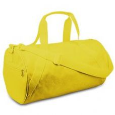 12 Units of Large Square Duffel - Bright Yellow - Duffle Bags