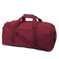 12 Units of Large Square Duffel - Cardinal - Duffle Bags