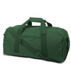 12 Units of  Large Square Duffel - Forest - Duffle Bags