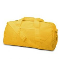12 Units of Large Square Duffel - Golden Yellow - Duffle Bags