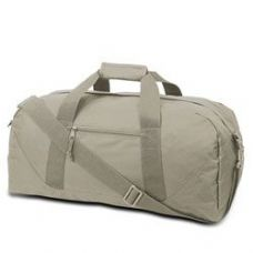 12 Units of Large Square Duffel - Grey - Duffle Bags
