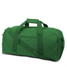 12 Units of Large Square Duffel - Kelly - Duffle Bags