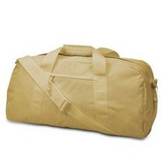 12 Units of  Large Square Duffel - Khaki - Duffle Bags