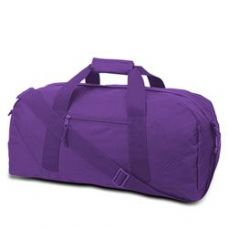 12 Units of Large Square Duffel - Lavender - Duffle Bags