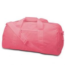 12 Units of Large Square Duffel - Light Pink - Duffle Bags