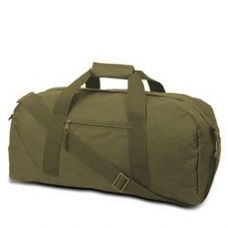 12 Units of Large Square Duffel - Olive - Duffle Bags
