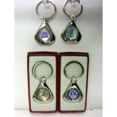 120 Units of Assorted Car Insignia Keychains - Key Chains