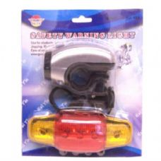 48 Units of Bike Light with Tail Light - Biking