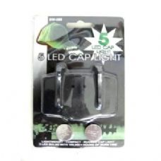 60 Units of Cap Light With 5 Bulb LED - Flash Lights