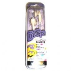 72 Units of Ear Drop Stereo Earphones For Ipods - Headphones and Earbuds