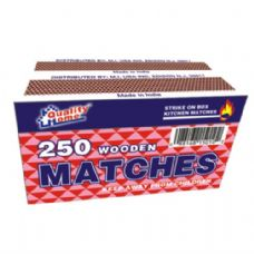 48 Units of 2 Pack Matches 250CT - BBQ supplies