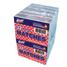 48 Units of 10 Pack Matches 32CT - BBQ supplies