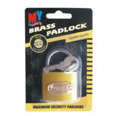 72 Units of Lock Brass 40mm - PADLOCKS/IRON/BRASS/COMBO