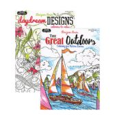 48 Units of Designer Series Ver.1 Coloring Book for Adults - Coloring Books