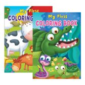 48 Units of MY FIRST Coloring & Activity Book - Coloring Books