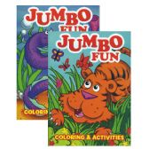 48 Units of JUMBO Fun Coloring & Activity Book - Coloring Books