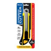 12 Units of Heavy Duty Self Loading Cutter w/ Grip + 2 Replacement Blades - Box Cutters and Blades