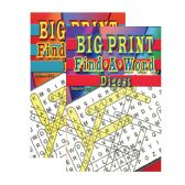 48 Units of Big Print Find-A-Word Puzzles Book Digest Size - Puzzle Books