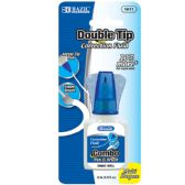 72 Units of 22ml 2 in 1 Correction w/ Foam Brush Applicator & Pen Tip - Correction Items