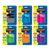 12 Units of Dual Blades Sharpener w/ Square Receptacle - SHARPENERS