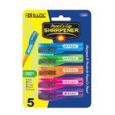 12 Units of Pencil's Cap Sharpener (5/pack) - SHARPENERS