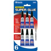 24 Units of 1 g / 0.036 Oz Single Use Super Glue (6/Pack) - Glue Office and School