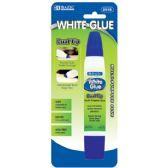 12 Units of 1 Oz. (29.5mL) Dual Tip White Glue - Glue Office and School