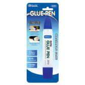 24 Units of 1 Oz. (29.5mL) Dual Tip Glue Pen - Glue Office and School