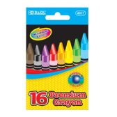 24 Units of 16 Color Premium Quality Crayon - Chalk,Chalkboards,Crayons