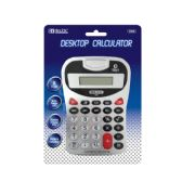 48 Units of 8-Digit Silver Desktop Calculator w/ Tone - Calculators