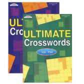48 Units of KAPPA Ultimate Crossword Puzzle Book - Puzzle Books