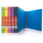 "48 Units of 1"" Swirl Poly 3-Ring Binder w/ Pocket - Clipboards and Binders"