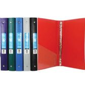 "48 Units of 1"" Matte Color Poly 3-Ring Binder w/ Pocket - Clipboards and Binders"