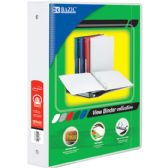 """12 Units of 1.5"""" White 3-Ring View Binder w/ 2-Pockets - Clipboards and Binders"""