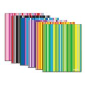 48 Units of Stripes 2-Pocket Poly Portfolio - Folders and Report Covers